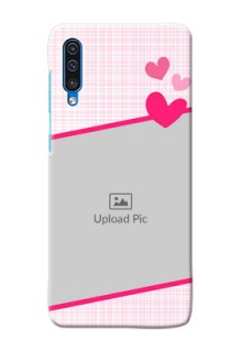 Galaxy A30s Personalised Phone Cases: Love Shape Heart Design