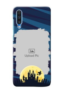 Galaxy A30s Back Covers: Halloween Witch Design
