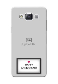 Samsung Galaxy A5 (2015) Happy Anniversary Mobile Cover Design