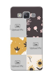 Samsung Galaxy A5 (2015) 3 image holder with florals Design