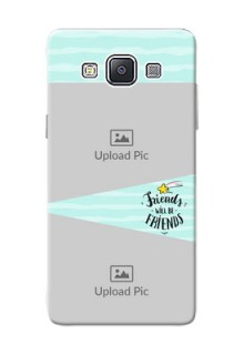 Samsung Galaxy A5 (2015) 2 image holder with friends icon Design
