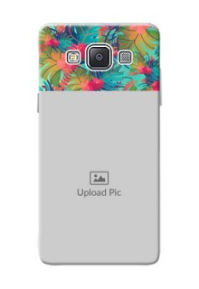 Samsung Galaxy A5 (2015) colourful watercolour floral Design