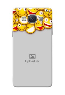 Samsung Galaxy A5 (2015) smileys pattern Design