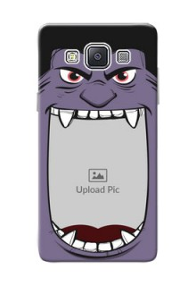 Samsung Galaxy A5 (2015) angry monster backcase Design
