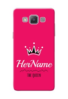 Galaxy A5 (2015) Queen Phone Case with Name