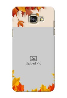 Samsung Galaxy A5 (2016) autumn maple leaves backdrop Design