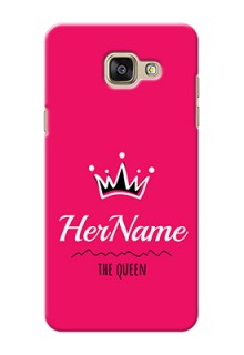 Galaxy A5 (2016) Queen Phone Case with Name