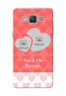 Samsung Galaxy A5 Duos Couples Picture Upload Mobile Cover Design