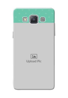 Samsung Galaxy A5 Duos Lovers Picture Upload Mobile Cover Design