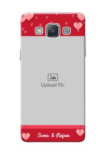 Samsung Galaxy A5 Duos valentines day couple Design