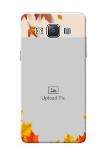 Samsung Galaxy A5 Duos autumn maple leaves backdrop Design