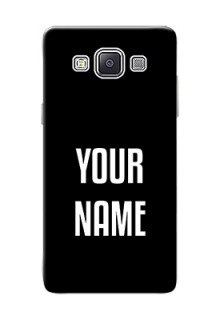 Galaxy A5 Duos Your Name on Phone Case