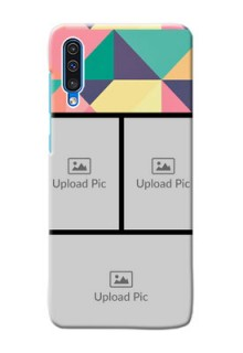 Galaxy A50 personalised phone covers: Bulk Pic Upload Design
