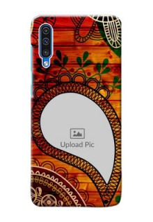 Galaxy A50 custom mobile cases: Abstract Colorful Design