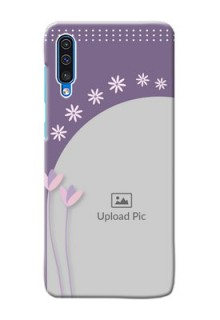 Galaxy A50 Phone covers for girls: lavender flowers design
