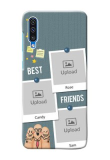 Galaxy A50 Mobile Cases: Sticky Frames and Friendship Design