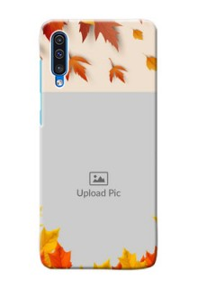 Galaxy A50 Mobile Phone Cases: Autumn Maple Leaves Design