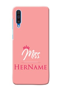 Galaxy A50 Custom Phone Case Mrs with Name