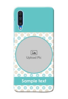 Galaxy A50s Custom Mobile Back Covers: Beautiful Flowers Design