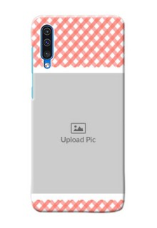 Galaxy A50s custom mobile cases: Pink Pattern Design
