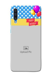 Galaxy A50s custom mobile back covers: Happy Birthday Design