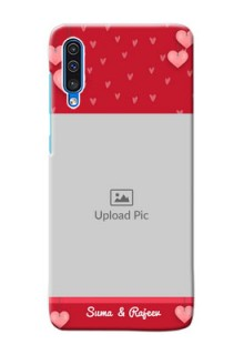 Galaxy A50s Mobile Back Covers: Valentines Day Design