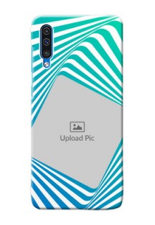 Galaxy A50s Personalised Mobile Covers: Abstract Spiral Design
