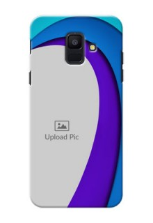 Samsung Galaxy A6 2018 Simple Pattern Mobile Case Design