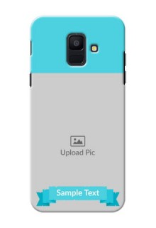 Samsung Galaxy A6 2018 Simple Mobile Back Cover Design