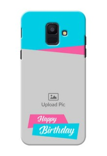 Samsung Galaxy A6 2018 2 image holder with 2 colour Design