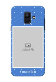 Samsung Galaxy A6 2018 2 image holder polka dots Design