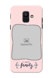 Samsung Galaxy A6 2018 A happy family with polka dots Design