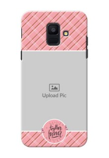 Samsung Galaxy A6 2018 together forever wit stripes Design