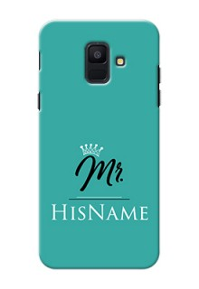 Galaxy A6 2018 Custom Phone Case Mr with Name