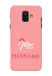 Galaxy A6 2018 Custom Phone Case Mrs with Name