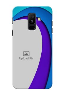 Samsung Galaxy A6 Plus 2018 Simple Pattern Mobile Case Design