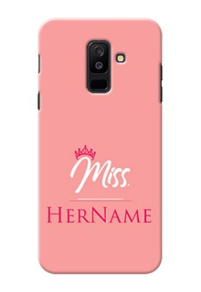 Galaxy A6 Plus 2018 Custom Phone Case Mrs with Name