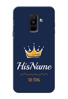 Galaxy A6 Plus 2018 King Phone Case with Name