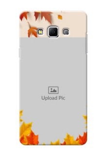 Samsung Galaxy A7 (2015) autumn maple leaves backdrop Design