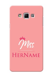 Galaxy A7 (2015) Custom Phone Case Mrs with Name