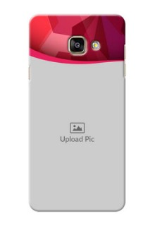 Samsung Galaxy A7 (2016) Red Abstract Mobile Case Design