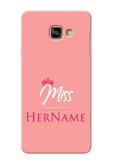 Galaxy A7 (2016) Custom Phone Case Mrs with Name