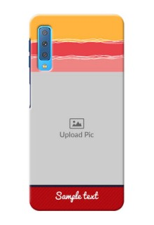Samsung Galaxy A7 (2018) custom mobile phone covers: Colorful Case Design