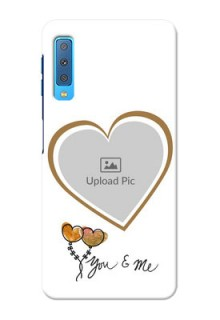Samsung Galaxy A7 (2018) customized phone cases: You & Me Design