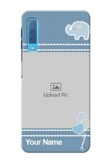 Samsung Galaxy A7 (2018) Custom Phone Covers with Kids Pattern Design