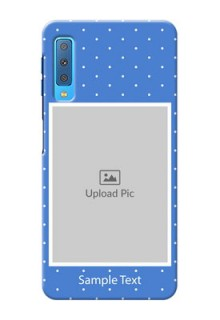 Samsung Galaxy A7 (2018) Personalised Phone Cases: polka dots design