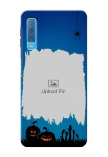 Samsung Galaxy A7 (2018) mobile cases online with pro Halloween design