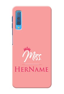 Galaxy A7 2018 Custom Phone Case Mrs with Name