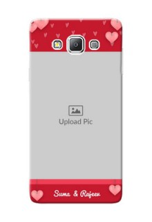 Samsung Galaxy A7 Duos valentines day couple Design