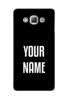 Galaxy A7 Duos Your Name on Phone Case